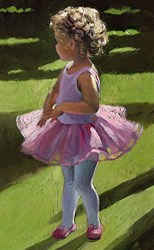 Pretty in Pink by Sherree Valentine Daines - Canvas on Board sized 7x12 inches. Available from Whitewall Galleries